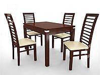 Елегантні меблі. Стіл + 4 стільці