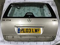 Крышка багажника mercedes w163 ml-сlass +стекло и замок