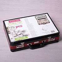 Набор столовых приборов 72 предмета в чемодане Kamille 5215B