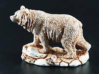 Фигурка Медведь из гипса