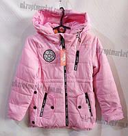 """Куртка детская на девочку (8-12 лет) """"Spider"""" купить оптом со склада LB-1048"""