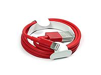 Lightning USB кабель для iPhone, iPad (red)