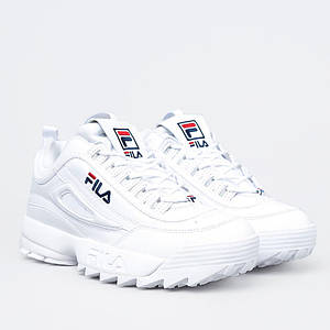 Женские кроссовки FILA DISRUPTOR 2 WHITE белые