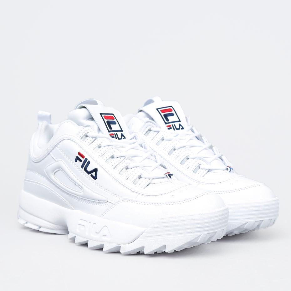 Женские кроссовки FILA DISRUPTOR 2 WHITE белые - BBZ Shoes   Wear в Харькове c4017d3bf0c