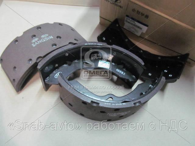 Колодки тормозные барабанные задние Hyundai Hd35/hd75 -10 (производство Mobis) (арт. 5830545A62), AHHZX