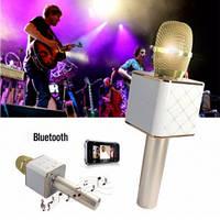 Микрофона Колонка с функцией Караоке Q7 Gold