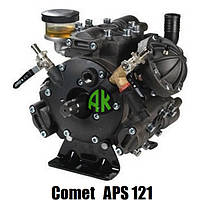 Насос мембранно-поршневий до обприскувача Comet APS 121 садовий | Помпи Комет