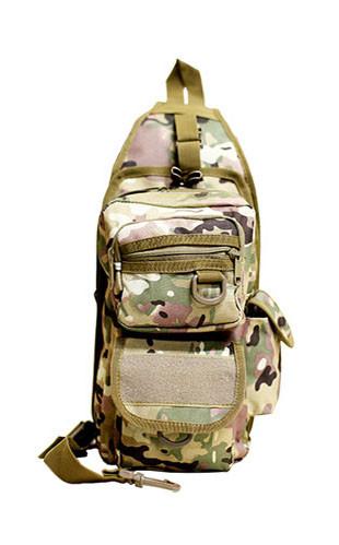 Тактический рюкзак однолямочный с отделением под пистолет Мультикам