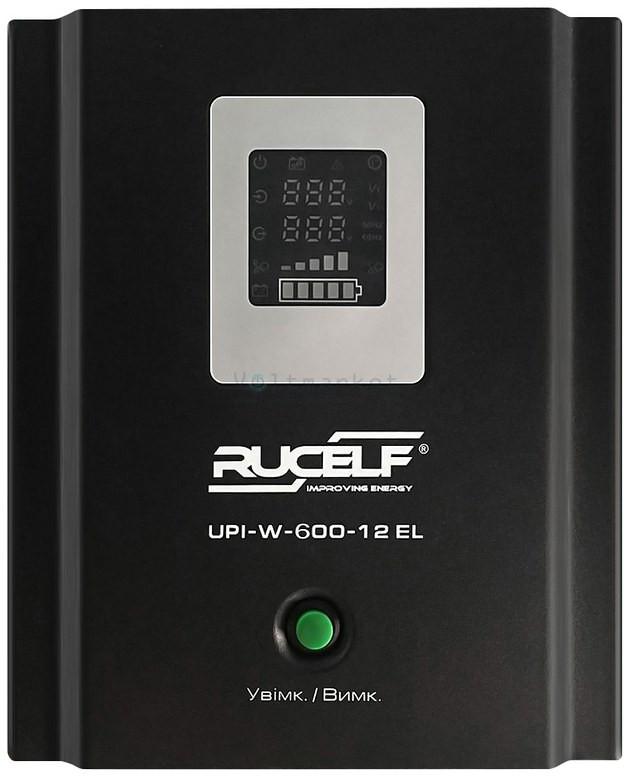 Бесперебойник RUCELF UPI-W-600-12-EL - ИБП (12В, 350Вт) - инвертор с чистой синусоидой