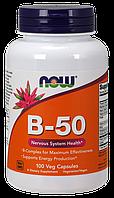 Комплекс Б-50 / Complx B-50, 100 капсул (комплекс витаминов группы B (B1, B2, B3, B5, B6, B12))