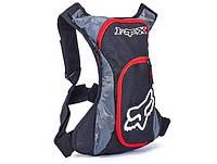 Вело мото рюкзак местом под  гидратор Fox Red