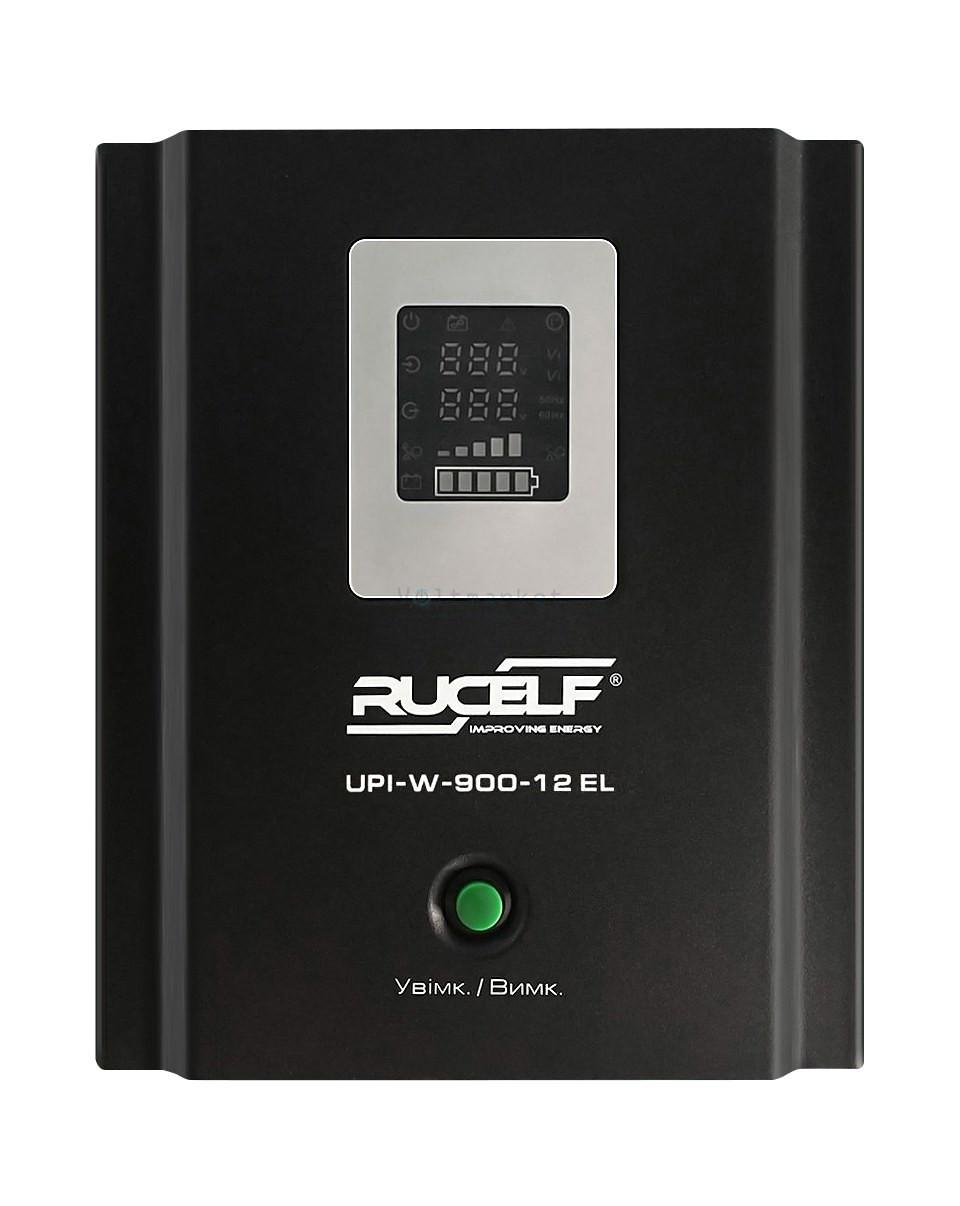 Бесперебойник RUCELF UPI-W-900-12-EL - ИБП (12В, 550Вт) - инвертор с чистой синусоидой