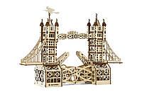 """Механический конструктор из дерева 3D """"Тауэрский мост"""" Mr.Playwood"""