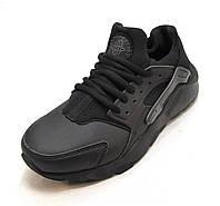 Кроссовки Nike Huarache  черные унисекс (р.36,37,38,39,40)