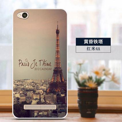 Бампер оригинальный чехол tpu для Xiaomi Redmi 5A с картинкой Париж