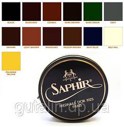 Паста для обуви Saphir Medaille D'or Pate De Luxe цвет светло коричневый (03) 50 мл