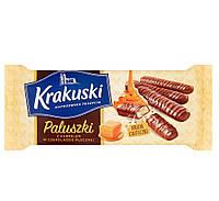 Печенье с карамелью в шоколаде Krakuski 144 г