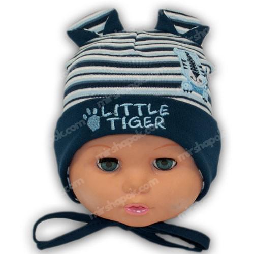шапочки из трикотажа для мальчика