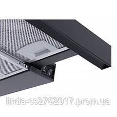 Кухонна витяжка GARDA 50 BK (450) VentoLux, фото 3