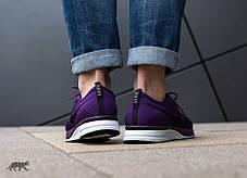 "Кроссовки Nike Flyknit Trainer ""Night Purple / Black — White"", фото 3"