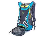 Рюкзак с гидратором и креплением шлема Monster turquoise