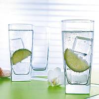 Набор высоких стаканов с квадратным дном Luminarc Sterling 330мл 6шт. Н7666