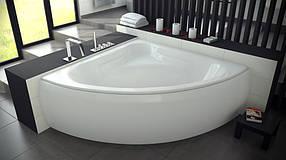 Угловая ванна MIA 120х120 Besco PMD Piramida