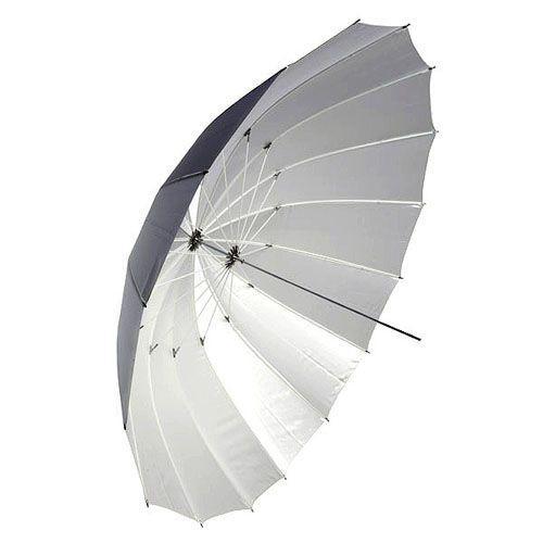 Зонт Mingxing Silver со спицами углеволокна  72''_185 см серебристый (48012)