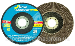 Круг пелюстковий торцевий 125*22,2 т27  Novoabrasive Standard P 60