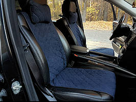 Копия Накидки на сиденья синие (передние сиденья)