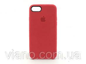 Замшевый чехол iPhone 7/8 (Красный) Alcantara case