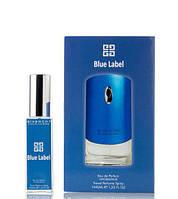 Мини парфюм Givenchy pour Homme Blue Label 40 мл в подарочной упаковке (для мужчин)