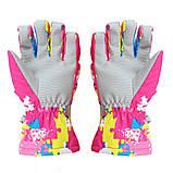 Гірськолижні рукавички Copozz (CPZ-GLV-200) / XL - Pink, фото 2