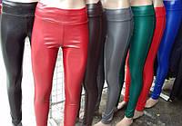Разные цвета Женские лосины ЭКО кожа в наличии, фото 1