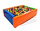 Сухой бассейн KIDIGO™ Прямоугольник 2,0 х 1,5 м MMSB8, фото 5