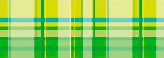 Картон двухсторонний URSUS 20*30 300г Vichy мотив Клетка, Зеленый UR-13362202R