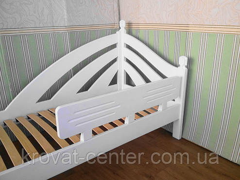 """Барьер белый """"Американка"""" в детскую кроватку. Массив дерева - ольха., фото 2"""