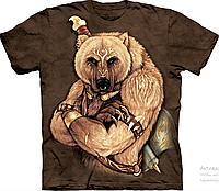 Футболка мужская 3D The Mountain Tribal Bear T-Shirt Оригинал США