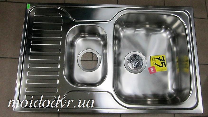 Мойка кухонная Teka Princess 50x80 из нержавеющей стали  полированная