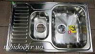 Мойка из нержавеющей стали Teka Princess 50x80 полированная