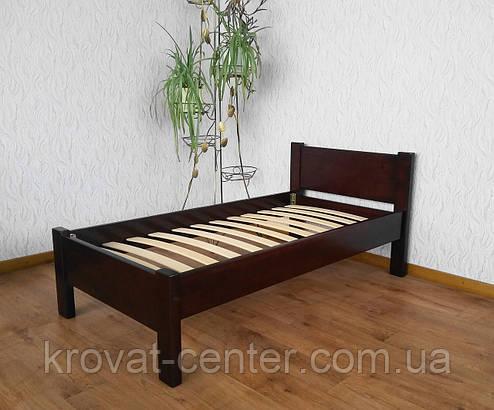 """Детская кровать """"Детская Эконом"""" (1400\1600*700мм.) массив - сосна, ольха, береза, дуб., фото 2"""