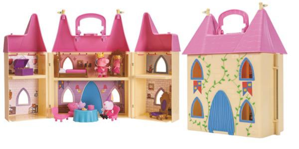 Королевский замок свинки Пеппы