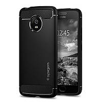 Чехол Spigen для Moto G5 Rugged Armor, Black