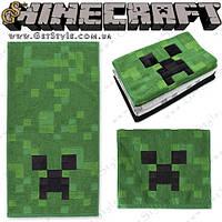 """Полотенце Minecraft - """"Creeper Towel"""" - 63 х 34 см."""