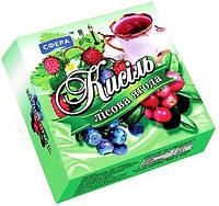 Кисель 250г Лесная ягода, 1 ящик (32шт)