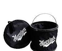 Meguiar's ST080 Ведро складное, черное - Foldable Bucket (до 9 л.)