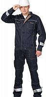Комплект рабочей одежды (куртка с полукомбинезоном) Вектор