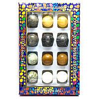 Каменные шары набор 12 штук