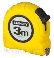 """Рулетка L-3м., W-12,7мм., """"Global Tape"""",  в пластмассовом корпусе, STANLEY 0-30-487."""