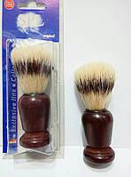 Помазок (кисточка) для бритья в деревяном корпусе SPL 90325 (щетина — имитация барсучьего волоса)